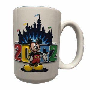 Walt Disneyland 2002 Mickey 3D Coffee Mug